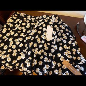 Reformation daisy skirt